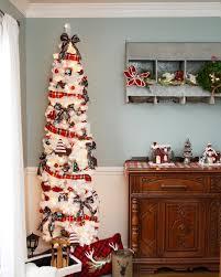 9 Ft White Pencil Christmas Tree by Skim Milk White Pencil Christmas Trees Online Treetopia