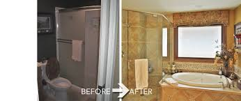 Small Bathroom Pictures Before And After by Bathroom Remodel Before After Interior Design
