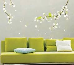 20 Beautiful Diy Interior Decorating Ideas Using Stencils And Tree Wall For Painting