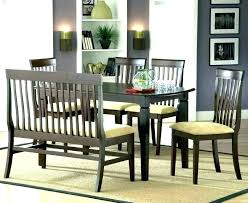 Dining Room Bench Small Table With Seat Covers Back Height