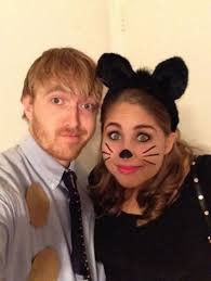 Jim And Pam Halloween by Hayley Hoover Halloween Costume Pam And Jim Allthehalloween