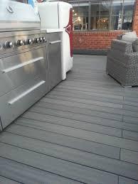Kon Tiki Wood Deck Tiles by Composite Deck Flooring Home U0026 Gardens Geek