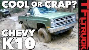 Is The Chevy K10 Square-Body Pickup Truck Cool Or Crap? (Video ...