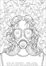 Morbidly Colorful Tales Fill Chuck Palahniuks Adult Coloring Book