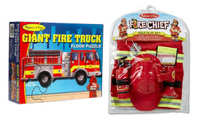 100 Melissa And Doug Fire Truck Puzzle And Man Play Bundle And 50 Similar Items