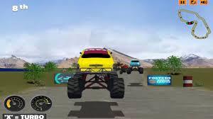 100 Juegos De Monster Truck De Carros De Carrera Camiones Monstruos Fever