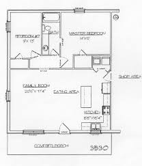 Barndominium Floor Plans With Loft by Floor Plans For 1000 Sq Ft Cabin Under 600 Square Feet Cabin