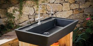 Best Outdoor Sink Material by Kitchen Sinks U2013 Stone Forest