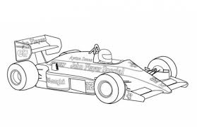 Free Printable Race Car Coloring Pages For Kids In
