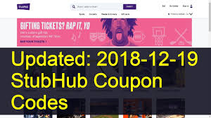 StubHub Coupon Codes: 7 Valid Coupons Today (Updated: 2019-03-19) Birdwell Discount Code Discount Codes For Wish Promo Sthub Fiber One Sale Dover Coupon 2018 Gardening Freebies Sams Pizza Coupons Fredericksburg Va Pizza Raleigh Nc Sthub Hotel Guide Arizona Great Clips Menifee Tweedle Farms April 2019 Little Caesars Madden Ultimate Team Promo Bintan Getaway Shoe Stores In Charlotte That Sell Jordans Shangri La Sthub Codes 100 Working Shoprite Matchups 81218 Electric Wine Aerator Tailor Less Tanning Salons Colorado Springs
