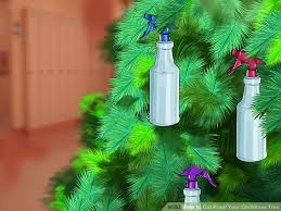 Saran Wrap Christmas Tree With Ornaments by 3 Ways To Cat Proof Your Christmas Tree Wikihow