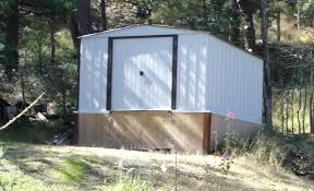 Sears Metal Shed Instructions by Get More Out Of A Cheap Metal Shed 9 Steps