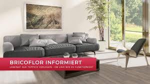 laminat auf teppich verlegen ob und wie es funktioniert