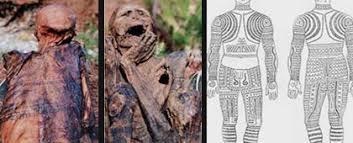 The Mummified Body Of Apo Anno With Its Full Tattoo Still Intact Is Said