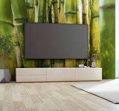 bambus pflanzen zen wandtapete