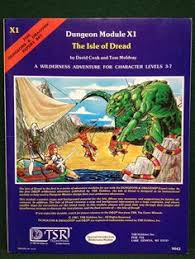 The Isle Of Dread Dungeons Dragons Module DD TSR 9043 ADD In Toys Hobbies Games Role Playing Adventure Modules