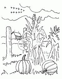 Pumpkin Patch Coloring Pages by Coloring Pages Printable Autumn Coloring Sheets Printable