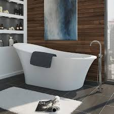54 X 27 Bathtub With Surround by Shop Bathtubs At Lowes Com