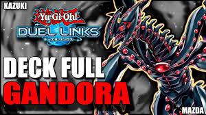 gandora deck yu gi oh duel links youtube