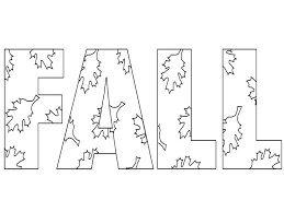 Coloringws Fall Coloring Pages