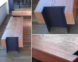Doug Fir Flooring Denver by Custom Douglas Fir Beam Bench By Where Wood Meets Steel