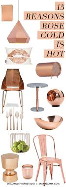 15 Reasons Rose Gold Is Hot For The Home Room DecorCopper