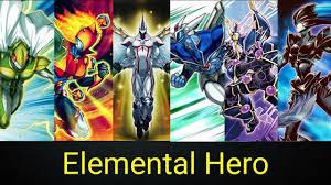elemental hero deck link summon tcg ocg august 2017 youtube