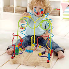 Hape Kitchen Set Singapore by Hape Funny Face Children Wooden Bead Wire Maze Educational