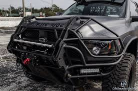 100 Grills For Trucks Dodge Ram With One Seriously Mean Looking Front Bumper Grill Guard