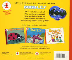 Halloween Picture Books For Kindergarten by Pop A Book About Bubbles Let U0027s Read And Find Out Science Stage