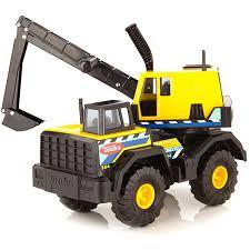100 Steel Tonka Trucks Funrise Classic Mighty Back Hoe EBay