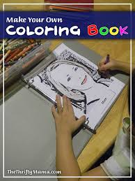Make Your Own Coloring Book For Free