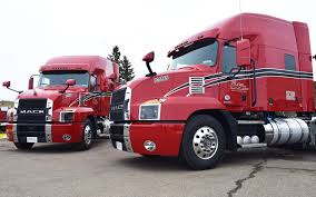 100 Wbt Trucking Westcan Eyes Fuel Economy Recruiting With Mack Anthem Truck