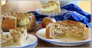 apfelkuchen zweierlei mit streusel