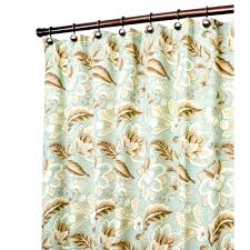 Nicole Miller Home Two Curtain Panels by Solid Brown Shower Curtain Home Decoration Ideas