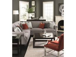 Bernhardt Brae Sofa Leather by Bernhardt Brae Five Seat Sectional Sofa With Transitional Style