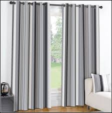 grey striped curtain panels curtains home decorating ideas