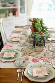 Disney Fairy Garden Decor by Domestic Fashionista Fairy Garden Tea Party Tablescape