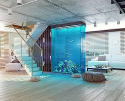 aquarium als raumteiler freshouse