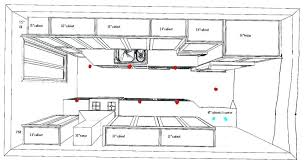 kitchen recessed lighting placement mobcart co
