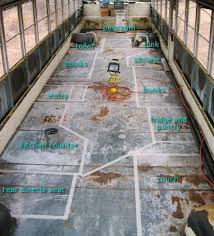 Best Type Of Flooring For Rv by Best 25 Bus Remodel Ideas On Pinterest Bus House Bus