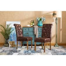Parsons Dining Chairs Upholstered by Osp Designs Parsons Dining Chair With Nailheads Habit Leather