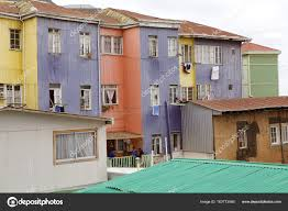 100 Houses In Chile In Valparaiso Stock Photo Ajlber 163773040