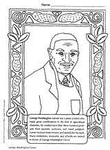 Inventor George Washington Carver Coloring Page For Black History Month February Or Inventors