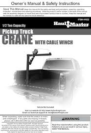 Harbor Freight 1 2 Ton Capacity Pickup Truck Crane With Cable Winch ... M N Truck Crane Service Ltd Opening Hours Ab Homemade Bumper Crane Youtube Old Man Boom Setup Arboristsitecom Harbor Freight Truck This Failed Do Not Mount Way Need System For Getting Raft In Bed Of Pickup Mountain Buzz My Harbor Freight Tools 12 Ton Capacity Pickup Product Pictures Base New Bed Cargo Unloader Unloading Big Rock With Mounted Hoist Lift Etc Ford Enthusiasts Forums With Cable