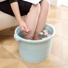 großhandel kunststoff eimer fuß wannenbad eimer badezimmer fuss waschbecken wäsche eimer tragbarer wasserbehälter haushaltsgegenstände yuanmian02