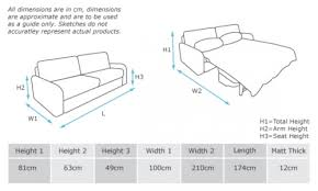 Nissan Frontier Bed Dimensions by Sofa Size Guide Brokeasshome Com