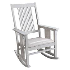 Gift Mark Mission Style Wooden Rocking Chair With Upholstered Seat Elegant Indoor Wooden Rocking Chair Livingroom White Black Surprising Mission Style And Designs Acacia Merax Solid Wood Outdoor For Patio Yard Porch Garden Backyard Balcony Living Room Classic Americana Windsor Rocker Gift Mark With Upholstered Seat Antique Arts Crafts Oak Ladder Back Hip Rail Timeless Handcrafted Fniture From The Rockerman Excellent Chairs Bentwood Hire Folding Table Jackpost Majestics Hdware Knollwood Do It Best Handmade