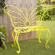 Decorative Yellow Metal Butterfly Garden Bench - Outdoor Yard Accent Braxton Culler Tribeca 2960 Modern Wicker Chair And 100 Livingroom Accent Chairs For Living Spindle Arm At Pier One 500 Bobbin 1 Imports Upscale Consignment Navy Swoop With Nailheads Colorful One_e993com Fniture Charming Your Room Wall Mirror Remarkable Kirkland Interior The 24 Best Websites Discount And Decor