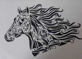 Horse Paper Cut Design Vilyoo Curating Contemporary Craft